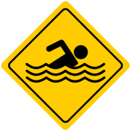 szkółka pływania kozy